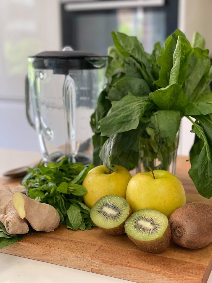 Ingredientes Smoothie para la retención de líquidos interior
